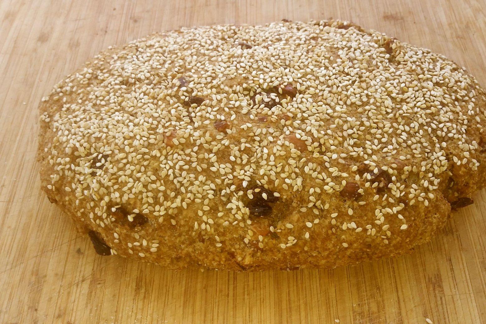Zuidvruchten-notenbrood, glutenvrij | Crudo