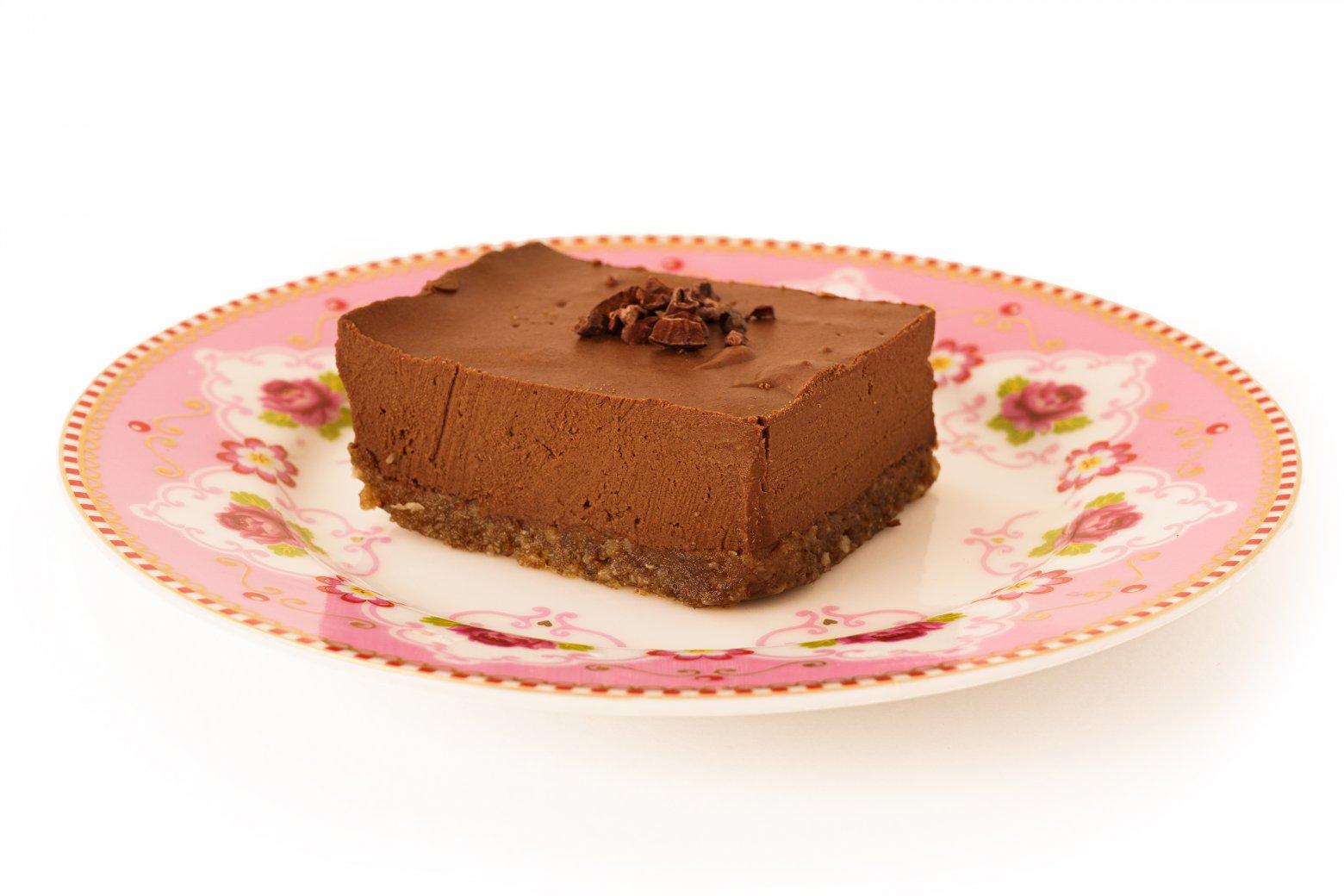 Vegan Chocoladetaart van Crudo, 100% bio | Crudo