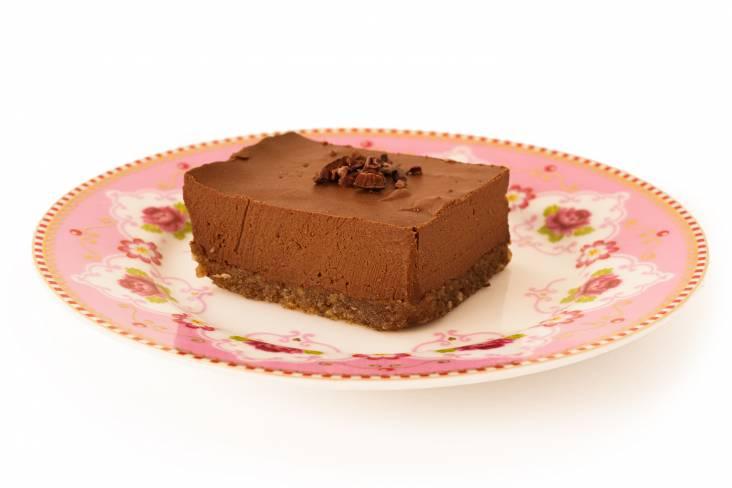 Vegan Chocoladetaart , 100% bio | Crudo