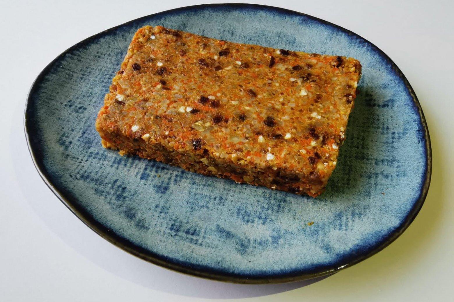 Wortel-Cashewcake | Crudo